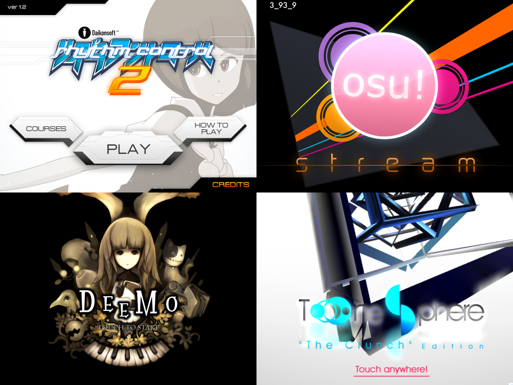 iOS 音楽ゲーム8選レビュー