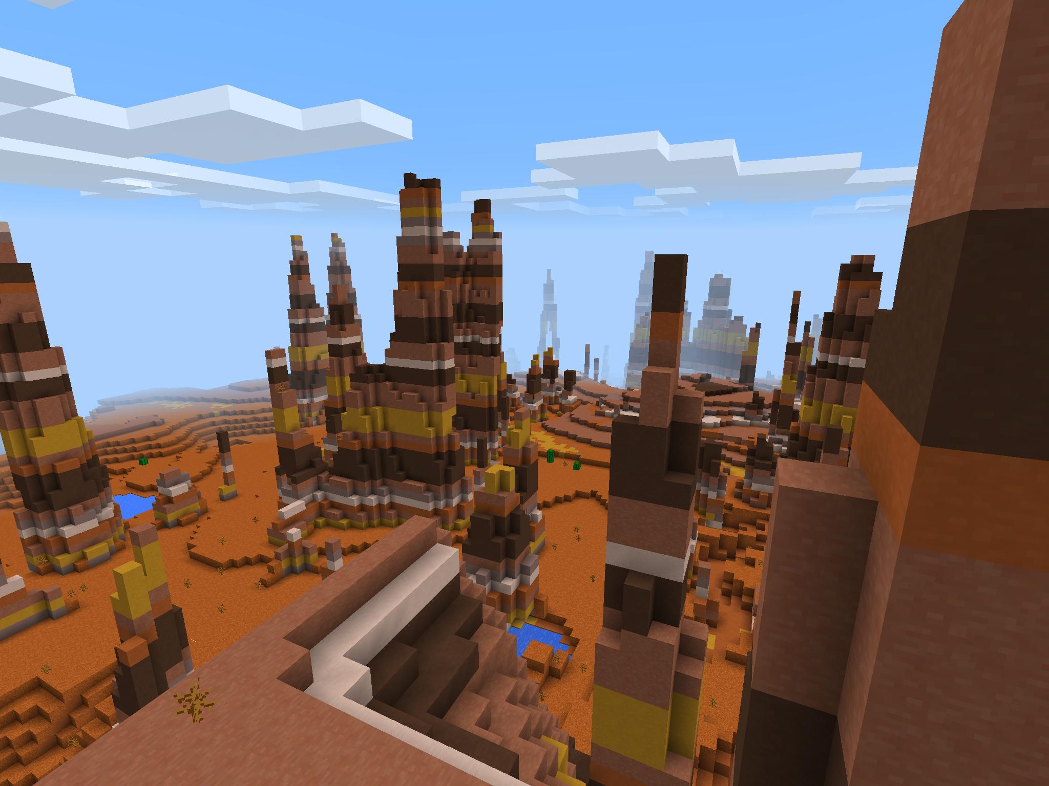 【Minecraft PE】最新ver 0.11で使えるseed値【オリジナル】