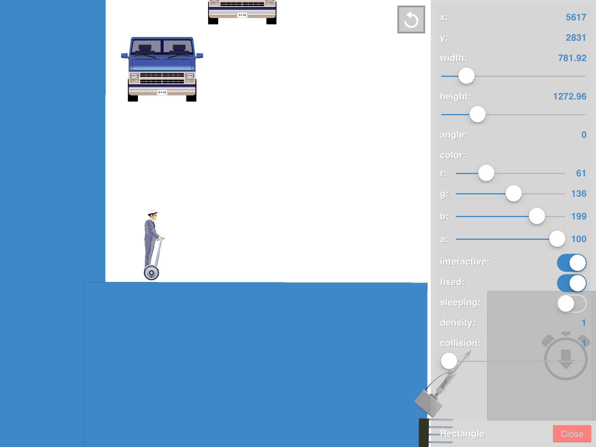 【Happy Wheels】ステージをエディットしよう【iOS】
