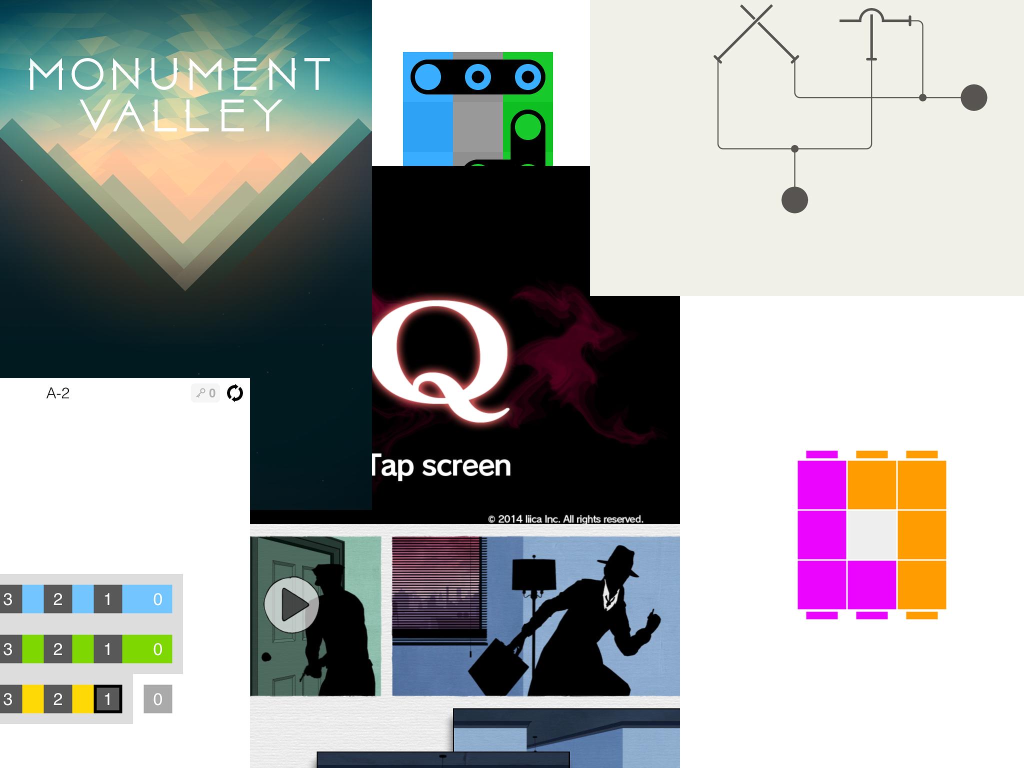 【iOS】1分から遊べる、パズルゲーム7選