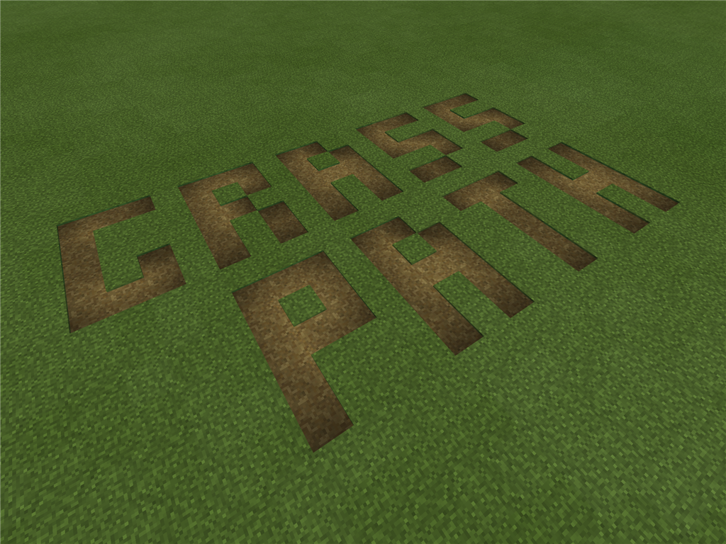 【Minecraft PE】0.12.3 にアップデート ~道ブロックのアイテム化について~
