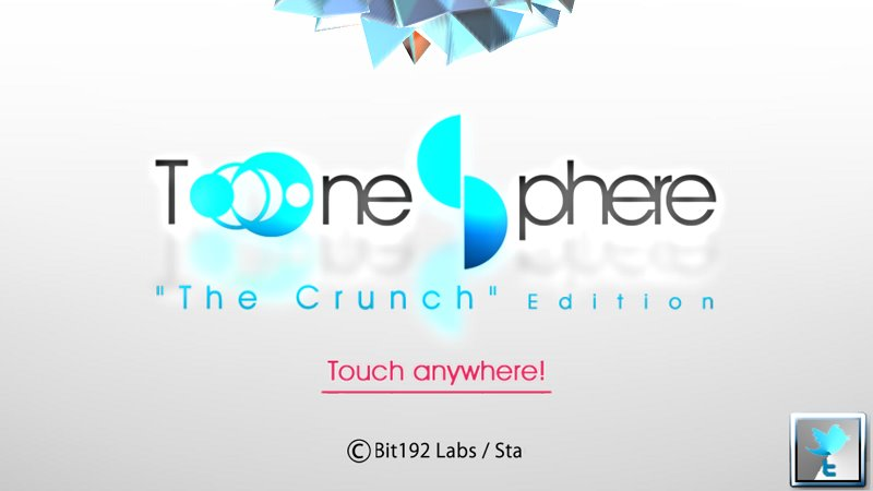 Tone Sphereの隠しコマンドが公開、判定幅や画面の向きが操作可能