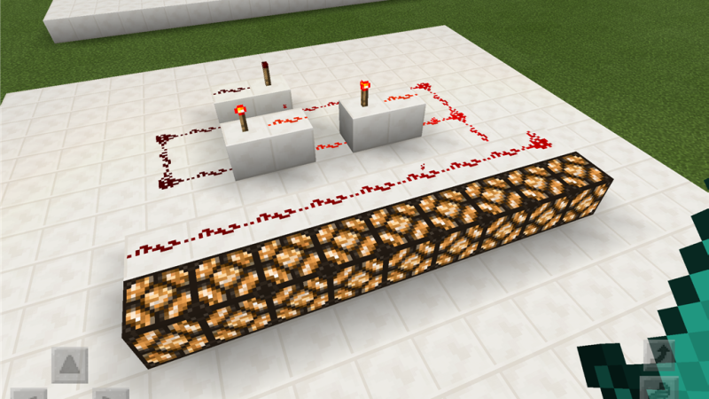 【Minecraft PE】レッドストーン回路の応用 ~論理回路~