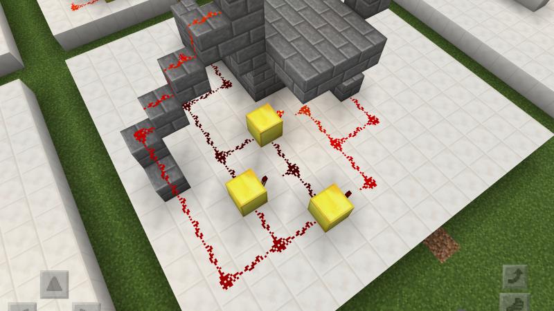 【Minecraft PE】レッドストーン回路の発展 ~XOR回路やラッチ回路~
