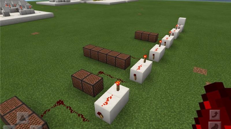 【Minecraft PE】レッドストーン回路 第4回 ~遅延と音符ブロック~