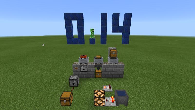 【Minecraft PE】0.14.0で追加されたレッドストーン回路の装置を紹介