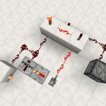 【Minecraft PE】レッドストーン反復装置(リピーター)の使い方