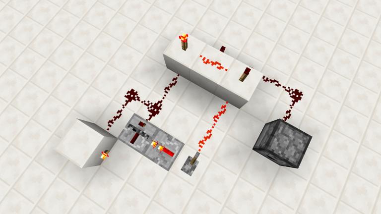 【Minecraft PE 0.14】レッドストーン反復装置(リピーター)の使い方