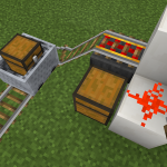 【Minecraft PE 0.14】ホッパーとドロッパーで楽々アイテム管理