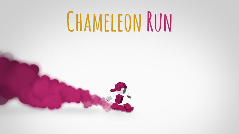 今週のApp – Chameleon Run の遊び方と最速を目指すテクニック