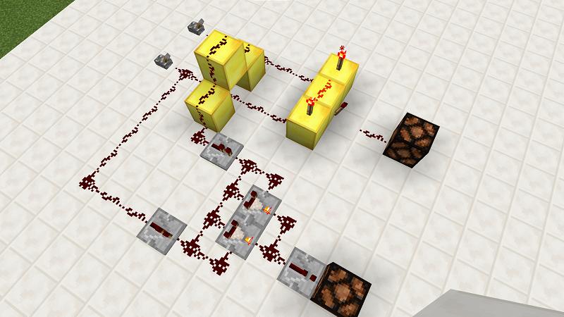 【Minecraft】計算機の作り方を分かりやすく解説!【半加算器】